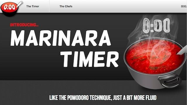 App de la semana Marinara Timer